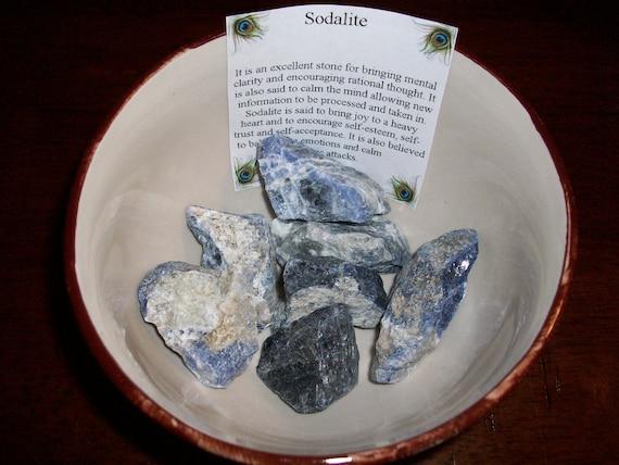 Sodalite Medium Raw Crystals