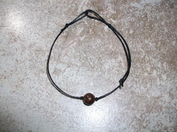 Astrophyllite 8mm Single Bead Stackable Knotted Bracelet