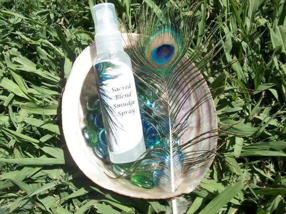 Sacred Blend Smudge Spray 2 oz Bottle
