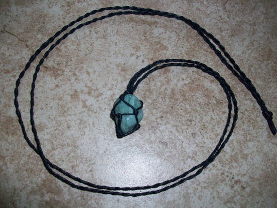 Green Fuchsite Braided Necklace