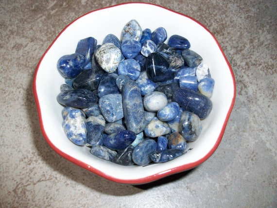Sodalite Tumbled Chipstones (2 Stones)