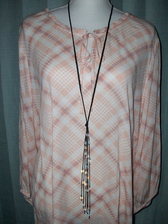 Opalite Lariat Necklace