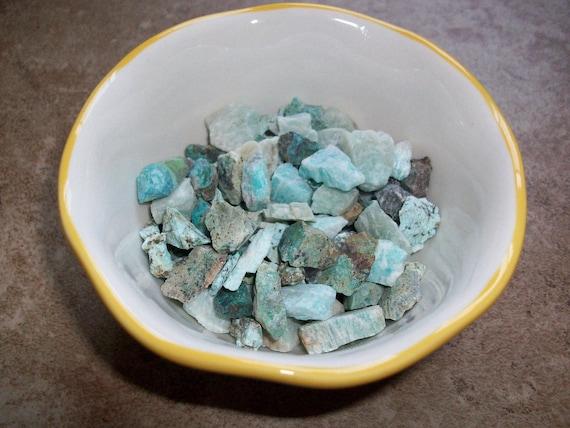 Amazonite Raw Chipstones (2 Stones)