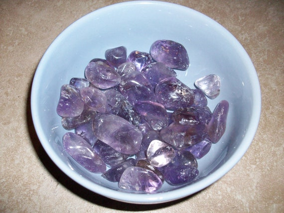 Ametrine (Chipped) Tumbled Stones