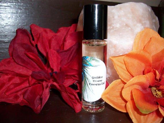 Goddess Divine Essential Oil Blend 1/3 oz Roller Bottle