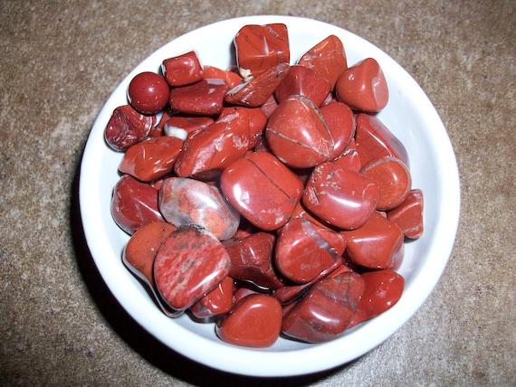 Brecciated Jasper Tumbled Chipstones (2 Stones)
