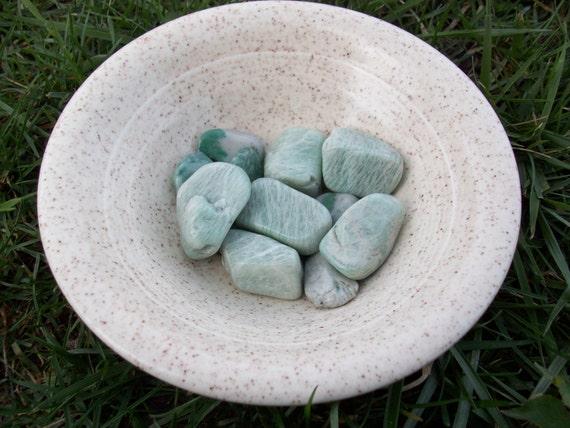 Amazonite Small Tumbled Stones