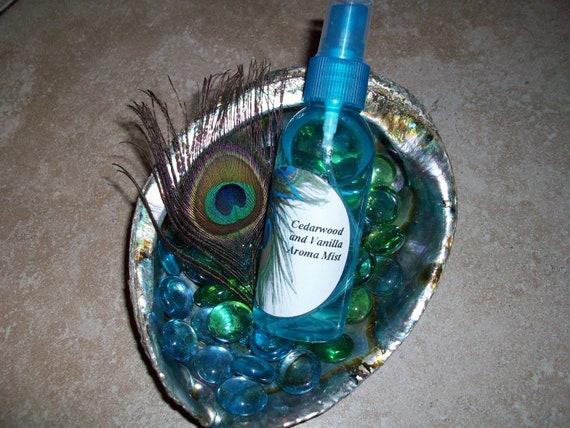 Cedarwood and Vanilla Aroma Mist 2 oz Bottle