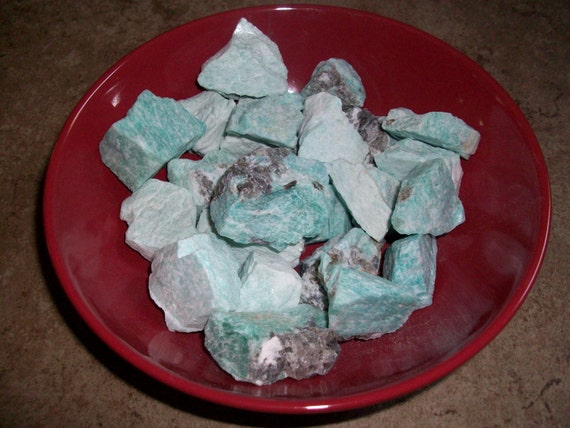 Amazonite Small/Medium Raw Crystals