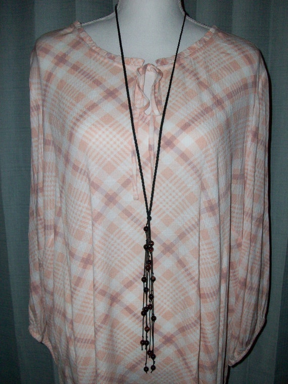 Red Tiger's Eye Lariat Necklace