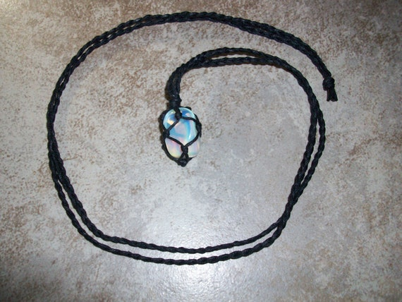 Opalite Braided Necklace