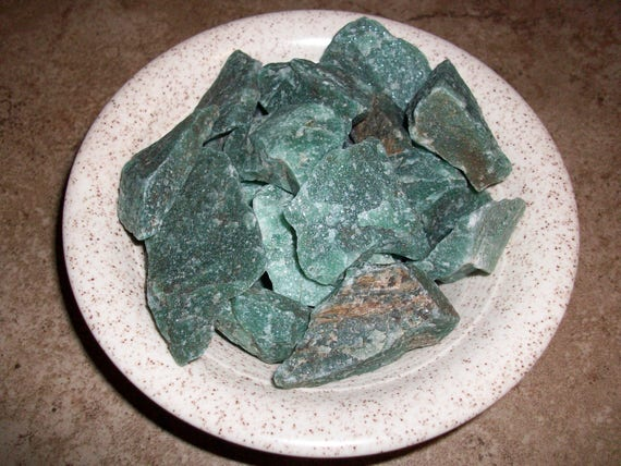 Green Aventurine Raw Crystals
