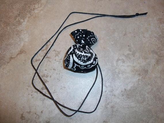New Moon Shaman Medicine Bag Necklace