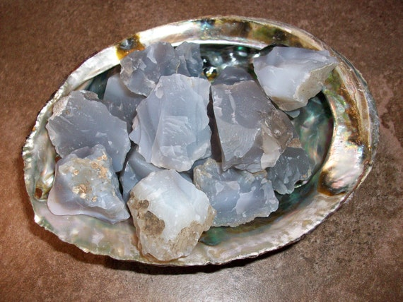 Gray Agate Raw Crystals