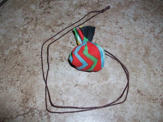 Energy Grounding (Retrogrades) Shaman Medicine Bag Necklace