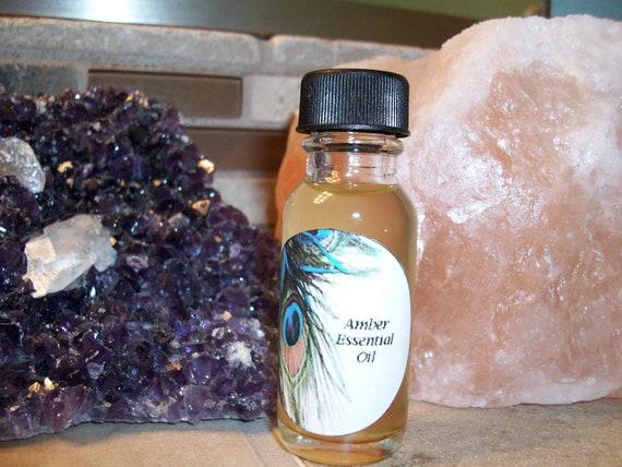 Amber Essential Oil Blend 1/2 oz Bottle