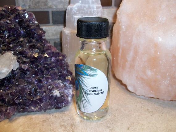 Rose Geranium Essential Oil Blend 1/2 oz Bottle