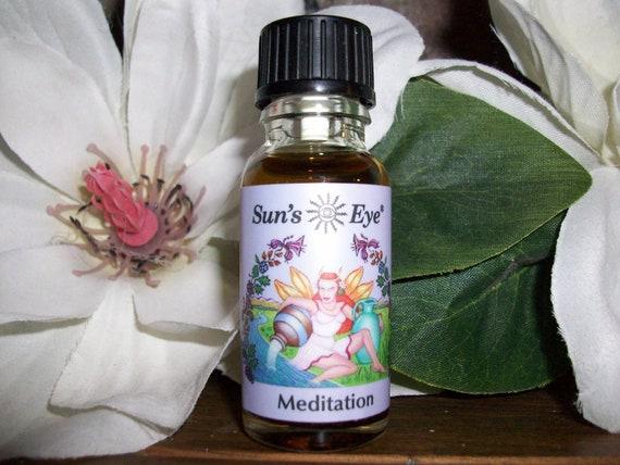 Sun's Eye Meditation Oil 1/2 oz Bottle