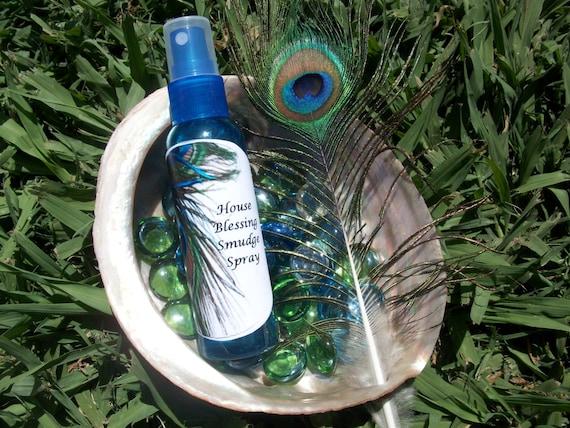 House Blessing Smudge Spray 2 oz Bottle