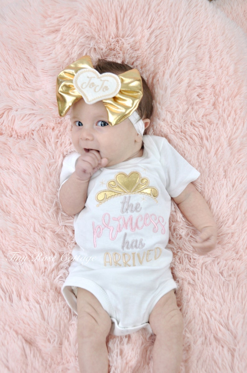 The Princess has arrived in Gold Embroidered Body Suit