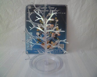Vintage 1984 Chadwick Plastic Tidbit Gum Drop Tree Decorative Server Christmas Decoration Old Stock