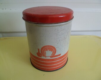 Art deco canisters etsy