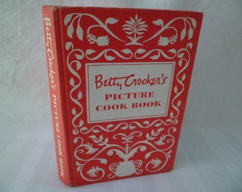 Vintage Betty Crocker's Picture Cook Book 1950 First Edition First Printing Hardcover 449 Pages