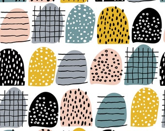 52485178c31 Colorful Stripes Pattern 100% Organic Interlock Knit cotton