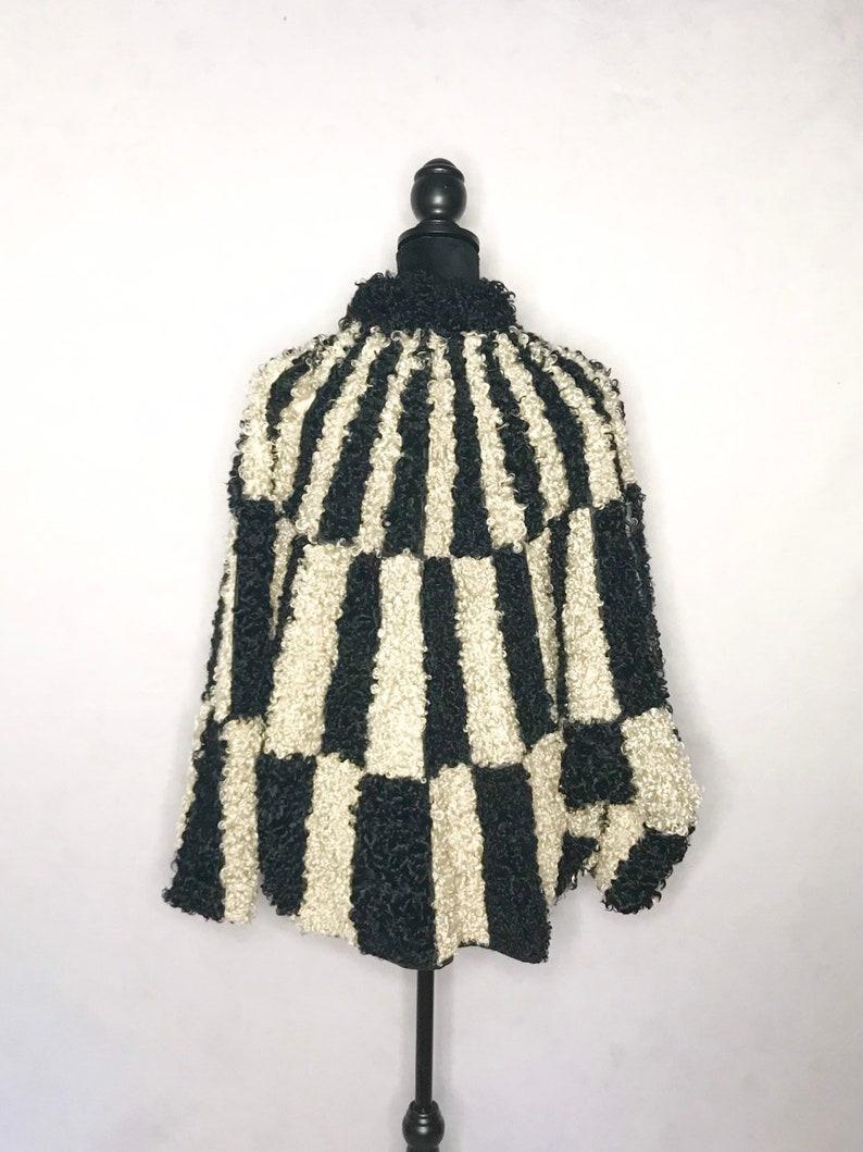 1980s coat Vintage 1980s batwing fur coat
