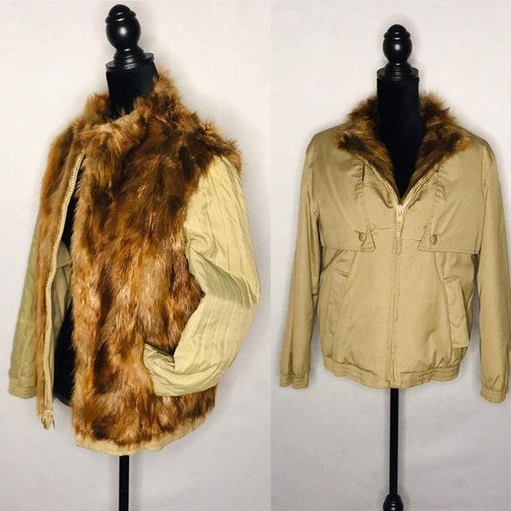 1980s Bomber/ Vintage 1980s bomber jacket