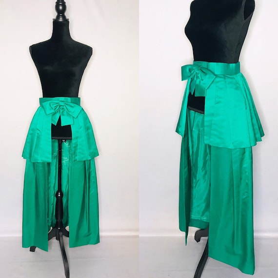 1950s skirt/ Vintage 1950s open skirt
