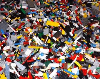 LEGO Bulk Lot of 1 Pound Small Medium Size Black Specialty Pieces 1 LB Grab Bag