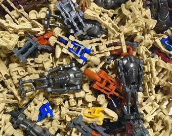 LEGO MINIFIGURE Lot of 6 Random DROIDS! Star Wars, Blaster, Battle, Army, Clone!