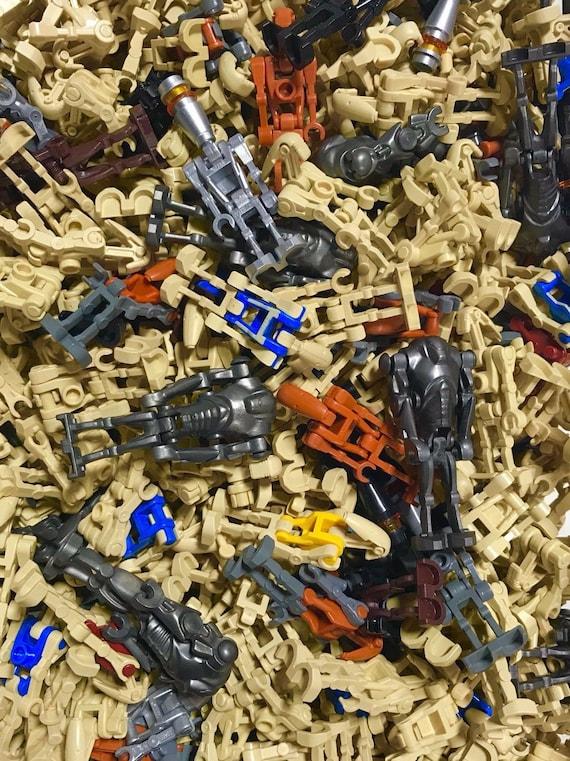 Lot of 6 random battle droids//super Battle Lego Star Wars battle droids custom