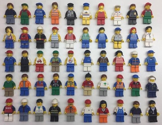 25 LEGO CITY POLICE FIREMEN BOTTLE CAPS BOTTLECAP NECKLACE BIRTHDAY PARTY FAVORS