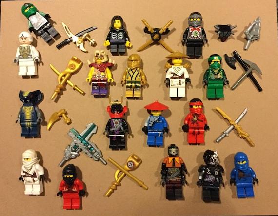 10 Lego Minifigures Bulk Lot Random Mixed Figures Read Description