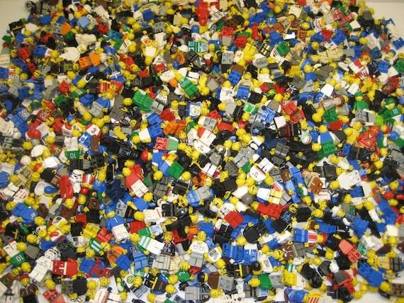 Mini Figures Hat Headgear Parts Lot Lego X10 New Blue Baseball Cap