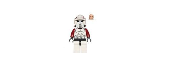 LEGO X5 New Clone Wars Clone Trooper Star Wars Clone Trooper Helmet Parts Lot