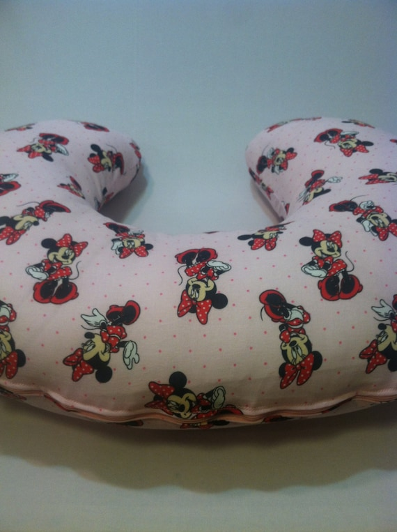 Boppy Abdeckung Minnie Mouse StillkissenAbdeckung Baby Etsy Cool Minnie Mouse Boppy Pillow Cover