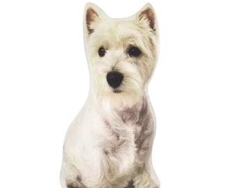 Westie, West Highland, Westie Terrier, westie gifts, Highland Terrier, Westie pillow, westie cushion, Westie lover, Westie mom, Dog gifts