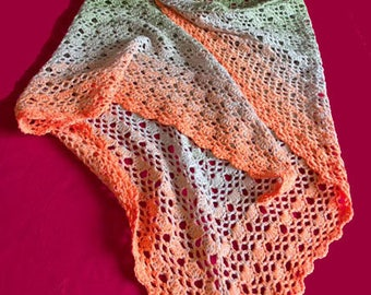Rainbow Scarf-Shawl