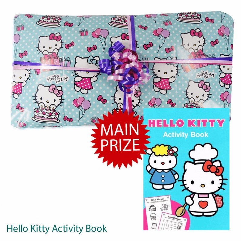 Hello Kitty Pass the Parcel Ready Made Party Game