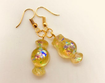 Wrapped Sweets Candy Earrings