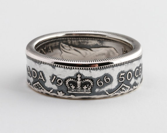 KENTUCKY SILVER PROOF  US STATE QUARTER HANDMADE COIN RING  SIZE 4-12