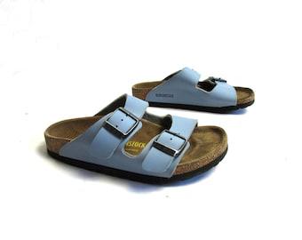 da90c05a6b4 Kids Birkenstock Children Birkenstock Shoes Blue Sandals Summer Shoes  Platform Slides