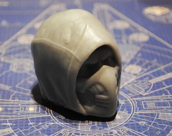 Superhero Parody Soap - Handmade Gamer Helmet Soap-nerdy soap, geek soap