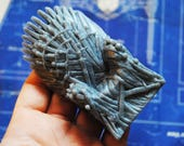 Game of foam soap parody -iron throne- winter is coming - gift, geeky soap, parody soap-2D