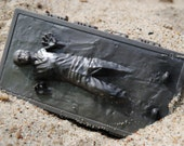 Handmade Han Solo in carbonite Soap - Star Wars, Han Solo - made from a Star Wars mould - Chewie, we're home!