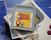 Gameboy Zelda Parody Cart Soap: Retro and geeky! - Gameboy Zelda Cart Soap with plastic holder! - retro gamer, novelty, geek
