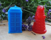 3 xDr Who type soap : Tardis & Dalek